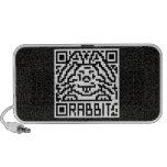 QR Code the Rabbit iPhone Speakers