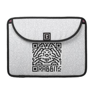 QR Code the Rabbit Sleeve For MacBook Pro