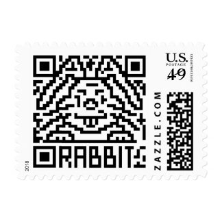 QR Code the Rabbit Stamps
