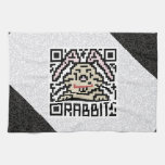 QR Code the Rabbit Towel