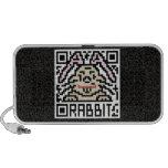 QR Code the Rabbit Travelling Speaker