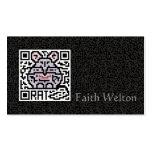 QR Code the Rat Business Card Template