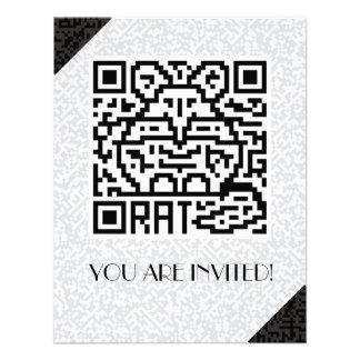 QR Code the Rat Personalized Invite