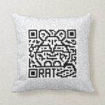 QR Code the Rat Pillows