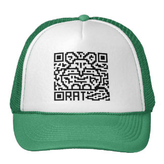 QR Code the Rat Trucker Hat