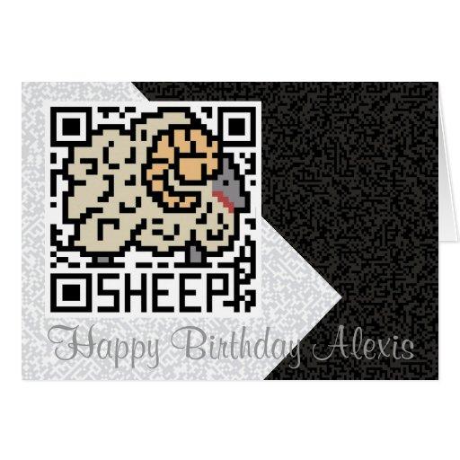 QR Code the Sheep Card