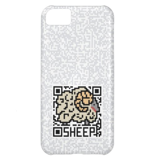 QR Code the Sheep Cover For iPhone 5C