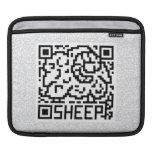 QR Code the Sheep iPad Sleeves