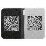 QR Code the Sheep Kindle Folio Case