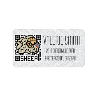 QR Code the Sheep Label