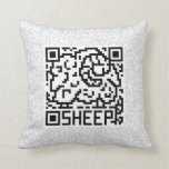 QR Code the Sheep Pillows