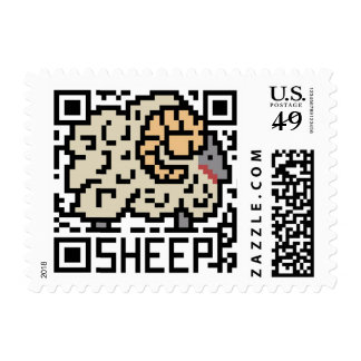 QR Code the Sheep Stamps
