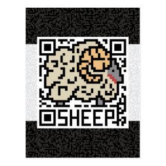 QR Code the Sheep Postcard