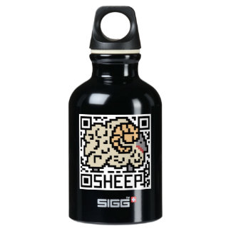 QR Code the Sheep Water Bottle