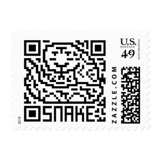 QR Code the Snake Stamps