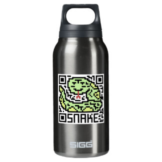 QR Code the Snake Thermos Bottle