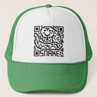 QR Code the Snake Trucker Hat