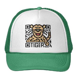QR Code the Tiger Trucker Hat