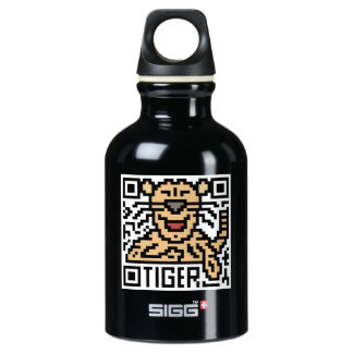 QR Code the Tiger Water Bottle