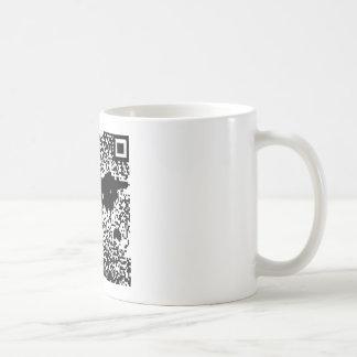 QR Code - The World Classic White Coffee Mug