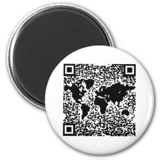 QR Code - The World Magnet