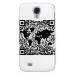 QR Code - The World Samsung Galaxy S4 Cover