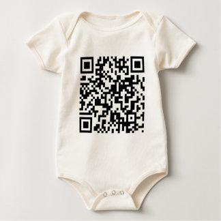 QR Code Baby Bodysuits