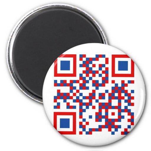 QR-Code-United-Kingdom- Fridge Magnets
