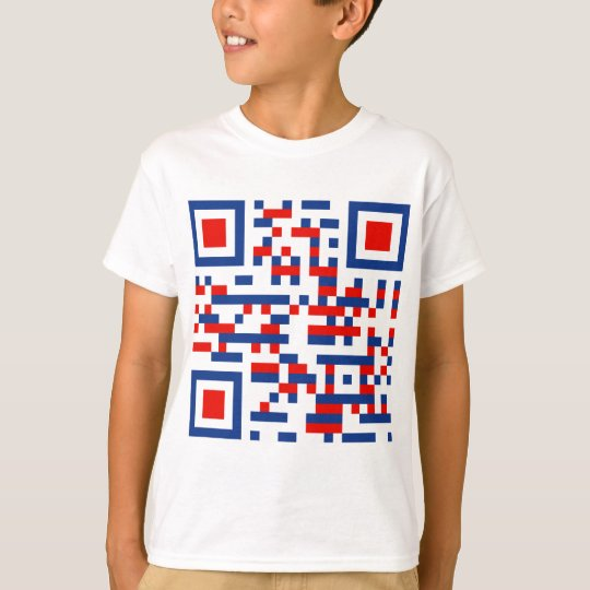QR-Code-United-States-of-Am T-Shirt