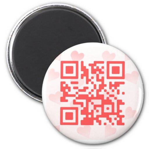 QR Code Valentine' s MBiO Magnet