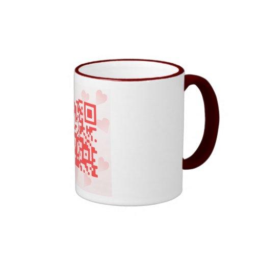 QR Code Valentine' s MBiO Mug