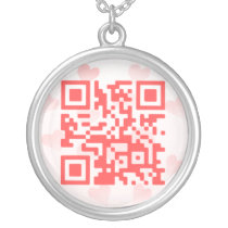 QR Code Valentine' s MBiO Necklace