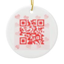 QR Code Valentine' s MBiO Ornament