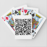 "QR Coded Playing Cards<br><div class=""desc"">Bicycle Cards with a QR Code on them. Give them away as a marketing strategy. When someone pulls out these cards to start playing it will help start conversation over what you are marketing.</div>"