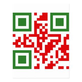 QR-Código-Algerie Tarjetas Postales