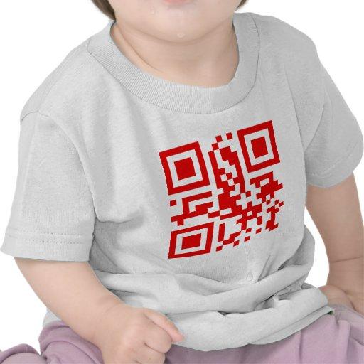 QR-Código-Canadá Camiseta