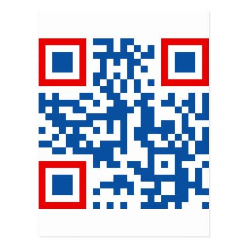 QR-Código-Commonwealth-de-Aus Tarjeta Postal