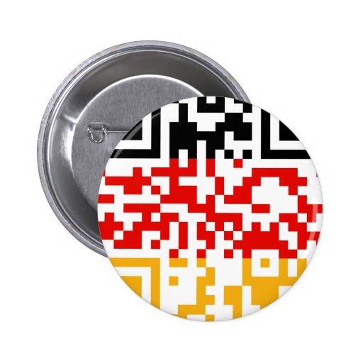 QR-Código-Deutschland Pins