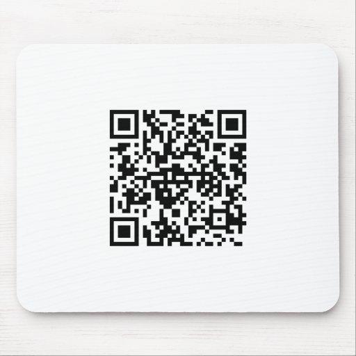 QR-código Mousepad