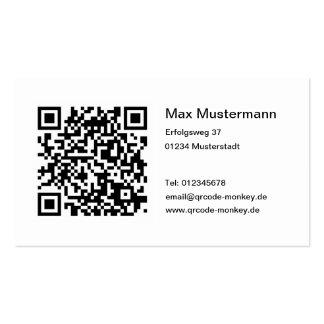QR-código tarjeta de presentación Tarjetas De Visita