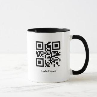 QR Coffee - Cafe Breve Mug