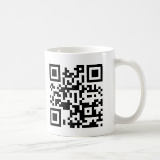 QR - GET BACK TO WORK! COFFEE MUG