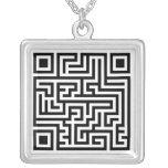 QR Maze Jewelry