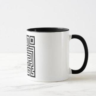QR Maze Mug