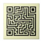 QR Maze Tile