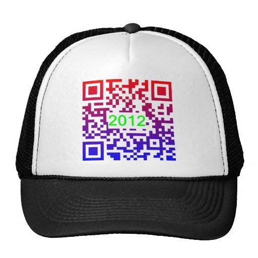 QR-NewYear2012 Hat