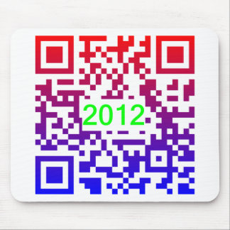 QR-NewYear2012 Mouse Pad