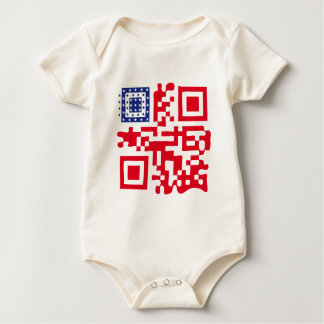 QR-USA.png Baby Bodysuit