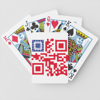 QR-USA.png Bicycle Playing Cards