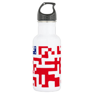 QR-USA.png Stainless Steel Water Bottle